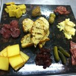 Local Artisan Cheese and Meats Board!