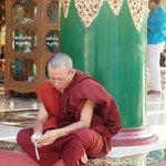 Monks at rest