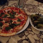Pizza and Brussel Sprouts!