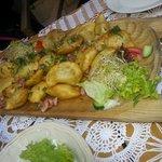Oven-baked meat dumplings :)