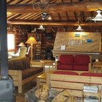 main lodge, very clean and cool rustic