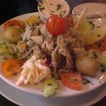 Smoked Fish Salad