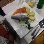 Fish filet w/potatoes