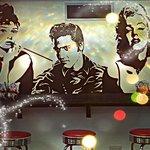 Fabulous mural in Skegness Pier Bowl