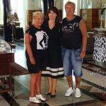 samen op de foto met Nancy
