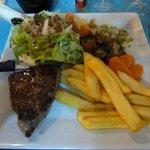 Steak Salat Pommes