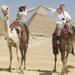 Our Camel ride was arranged through the tour company