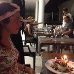 Birthday celebration at French Restaurant