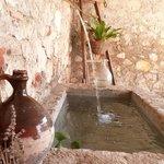La fontaine de la cour
