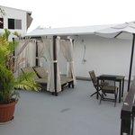 Amazing roof top terrace