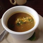 Try the sweet potato apple ginger soup!