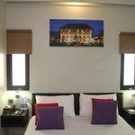 VIP room with twin window
