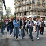 Caminhando pelas ruas de Paris