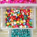 Choose your favourite beads and make your own bracelet in Pippins Bead Bar!