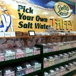 Pick your own flavors of our famous salt water taffy!  Pick as little or as much as you'd like!