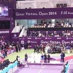 Qatar Total Open 2014 Singles Winner Presentation
