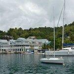 Marigot Bay - Hafen