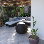 Patio open or secluded
