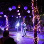 First dance with a bubble machine!