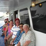 Enjoying an afternoon Dolphin Cruise on Cruisin One with my parents