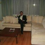 Salón de una suite