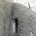 un ingresso del castello