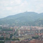 Blick über Turin (hinten Basilica di Superga)