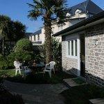 Jardins entres les chambres Cottage...un havre de paix