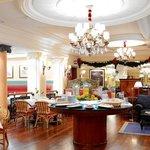 Hotel Lobby Breakfast Area