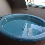 Hot Tub on Balcony