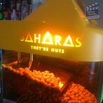 Saharas Nuts in the bar