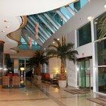 Hotel front lobby
