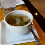 complimentary soup