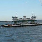Ferry heading to Galveston
