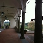 looking at the loggia