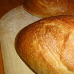 Occasionally, we'll make larger loaves for Crouton Ptoduction, or retail sales