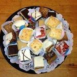 One of OHANA'S delicious Dessert Trays!