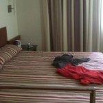 habitacion doble, cama super amplia