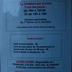 Öffnungszeiten & Eintritt vom   Rue du Chateau, Roquebrune