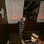 Escadaria do hotel