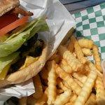 2/3 bacon burger combo