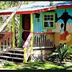 Foto de Lost Parrot Cabins