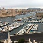 Vista del puerto desde el hotel