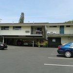 Motel vu de la rue