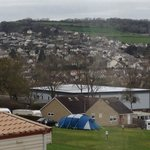 View from caravan No7