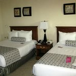 Zimmer mit 2 großen Betten