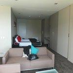 bedroom /lounge room