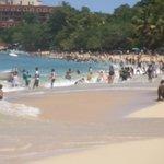Sosua Beach on the weekend