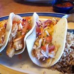 Great beer battered fish tacos