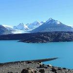 El Lago Guillermo desde el mirador